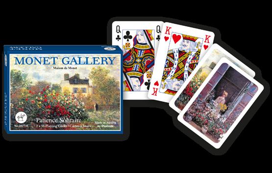 Patience-Karten Monet Gallery