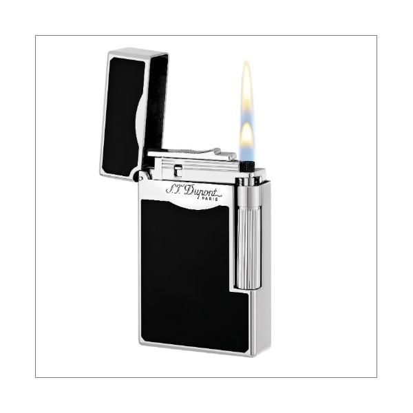 S.T. Dupont Feuerzeug Linie 2 Le Grande schwarz