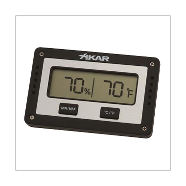 Xikar Digital Hygrometer Eckig