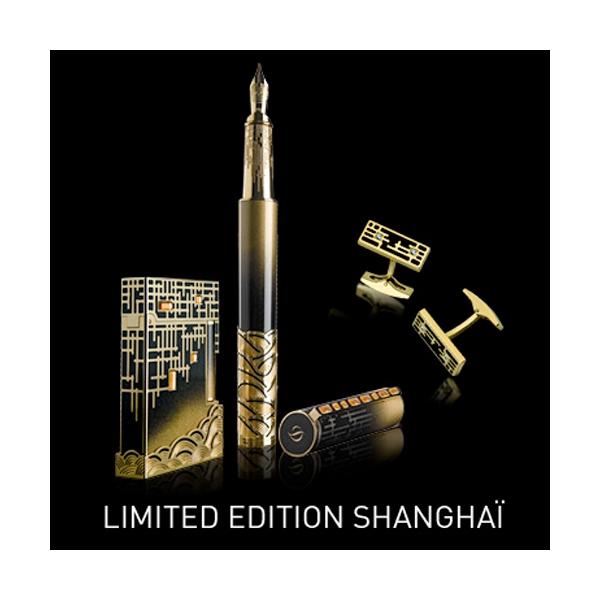 """S.T. Dupont """"Shanghai"""" Manschettenknöpfe"""
