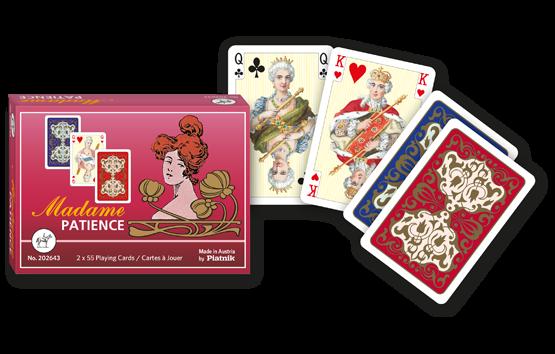 Patience-Karten Madame