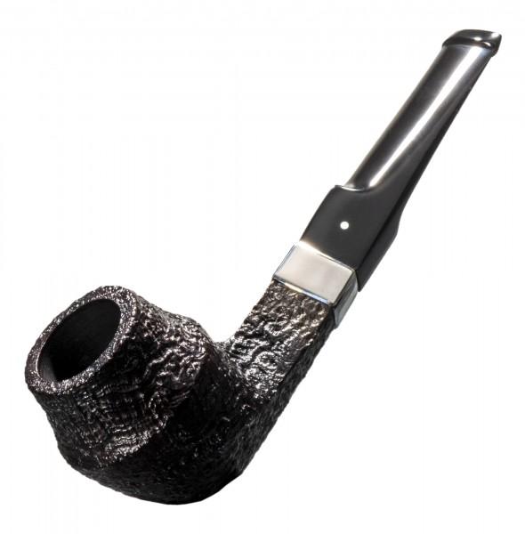 Dunhill Pfeife Shell Briar Haitti Gr. 4 - 4204 mit 9mm Silberband