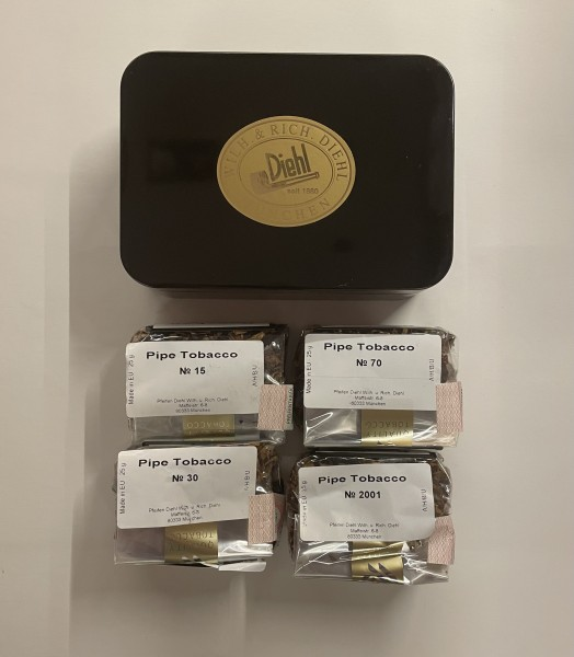 Diehl Pfeifentabak Dänische Tabak Box