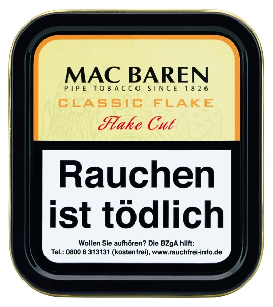 Mac Baren Classic Flake (ehemals Vanilla Cream) Flake Cut 50g