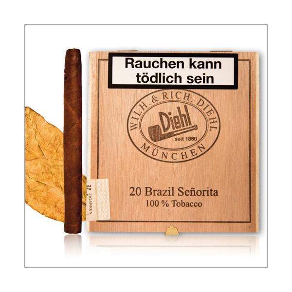 Diehl Zigarillos Brazil Senorita 20er Schachtel