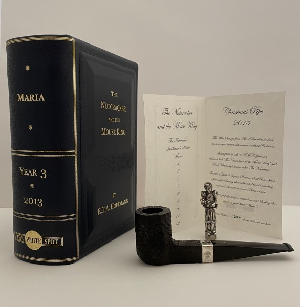 """Dunhill Christmas Pipe """"The Nutcracker and the Mouse King"""" Maria"""