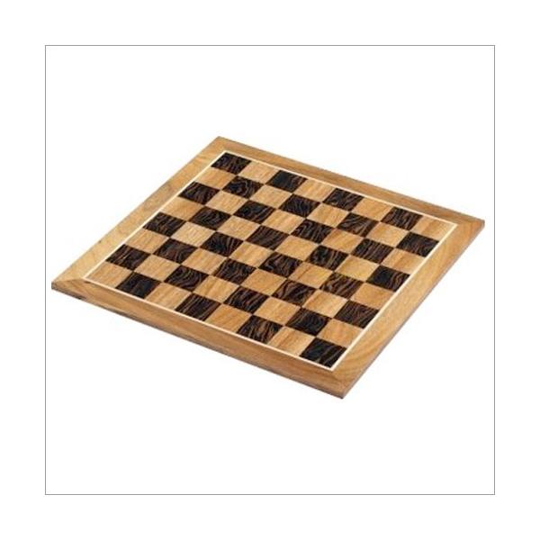 Turnierschachbrett aus Massivholz Zierader