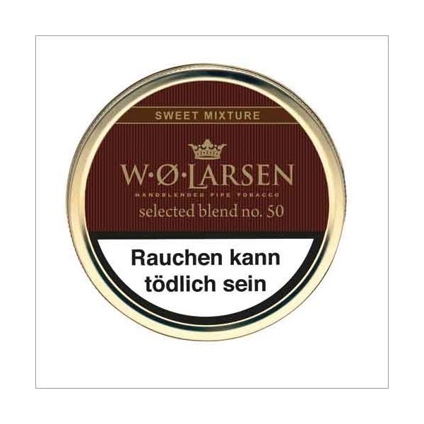 W.O.Larsen Pfeifentabak Selected Blend Nr. 50 50 g