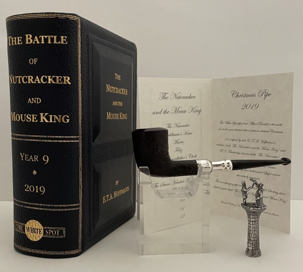 """Dunhill Christmas Pipe """"The Nutcracker and the Mouse King"""" The Battle of Nutcracker and Mouse King"""