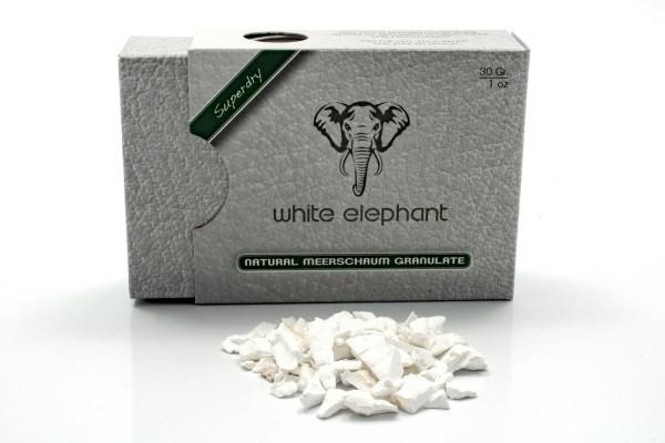 White Elephant Natural Meerschaum Granulat