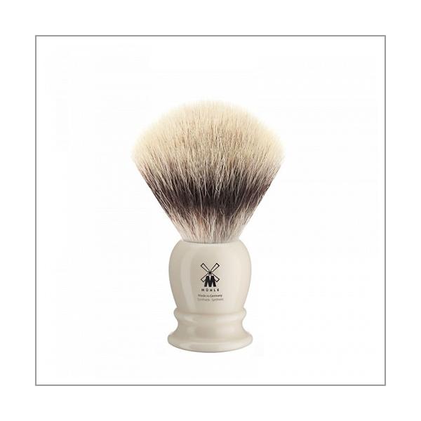 Rasierpinsel, Silvertip Fibres©, Edelharz elfenbein