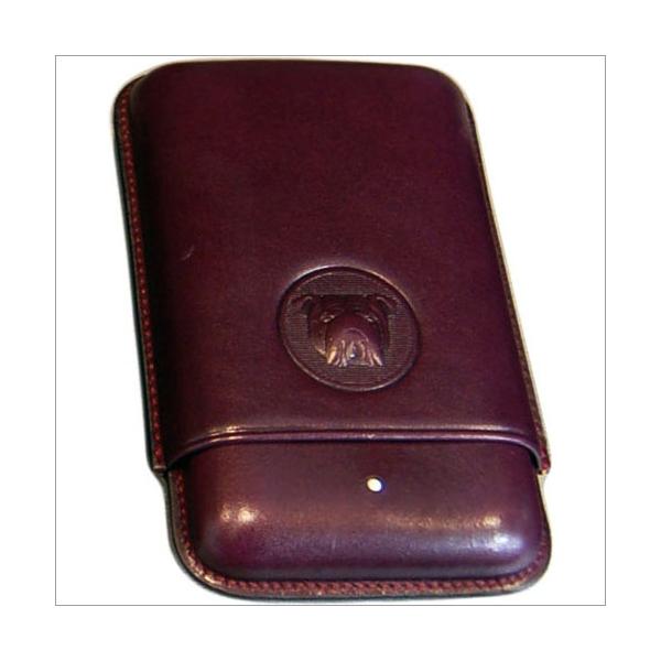 The White Spot-Dunhill London 3er Zigarrenetui Robusto purple