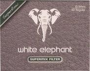 White Elephant natural Meerschaum Filter 9mm / 40er