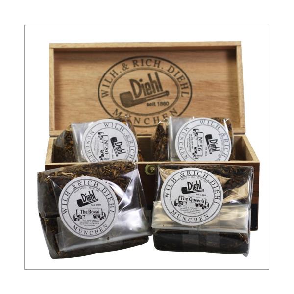 Diehl Pfeifentabak Englische Tabak Box