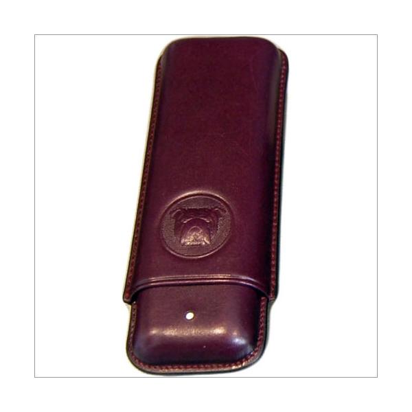 The White Spot-Dunhill London 2er Zigarrenetui für Corona purple