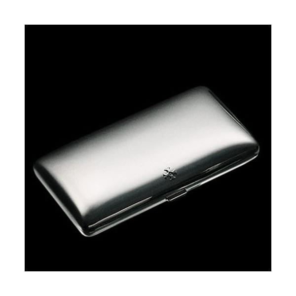 Sillem´s Etui für 10 Zigarillos / 100er Zigaretten versilbe