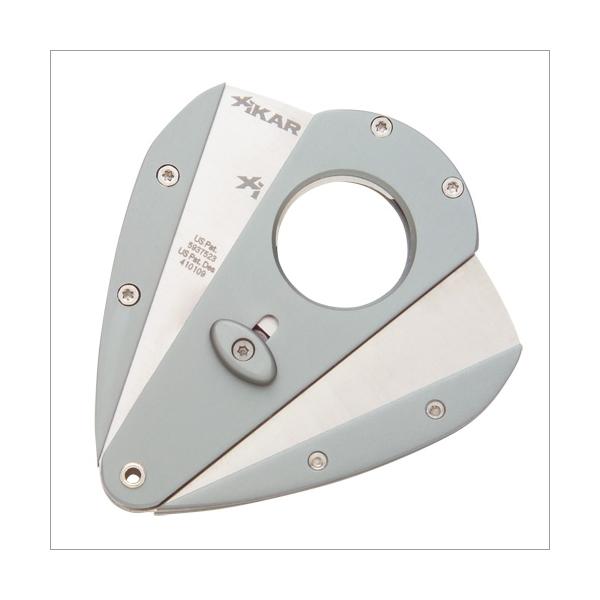 Xi1 Aluminium Xikar Cutter Silber