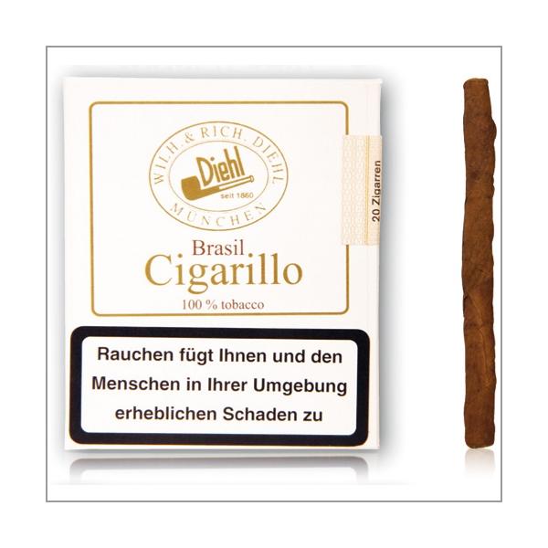 Diehl Brasil Cigarillo Mini 20er in der Pappbox