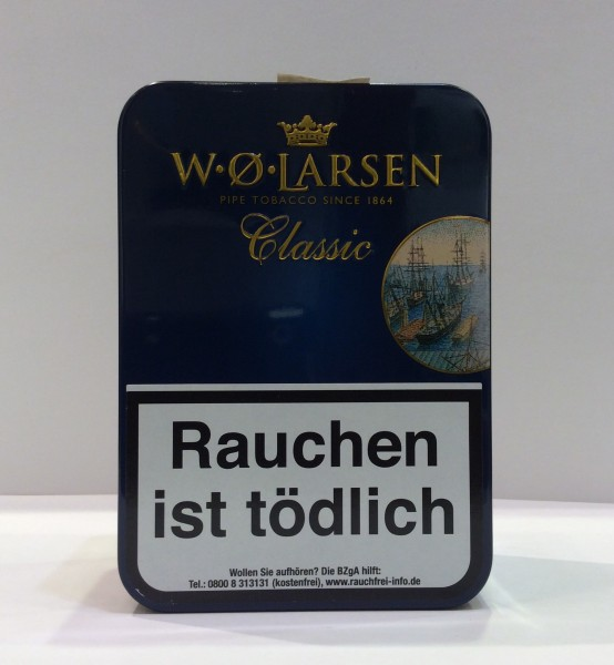 W.Ø. Larsen Pfeifentabak Classic / 100g