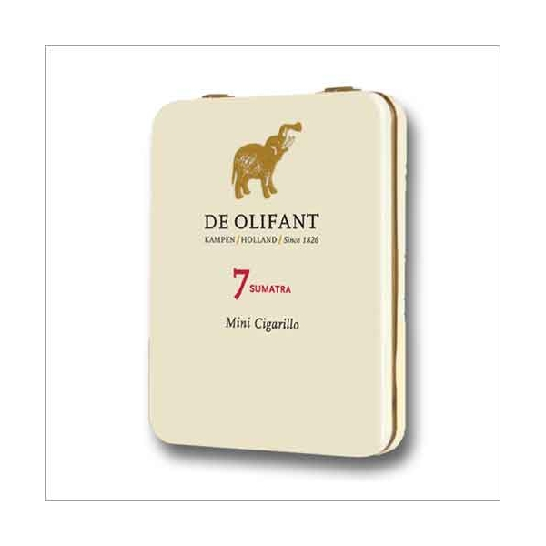 De Olifant 7 Sumatra Mini Cigarillo 7St.