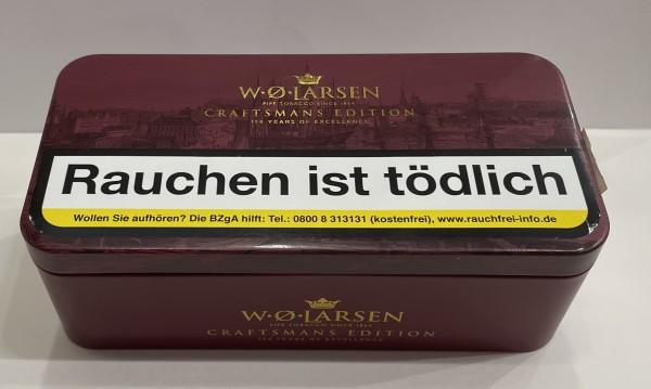 W.Ø. Larsen Pfeifentabak Craftsman Edition 154 Years