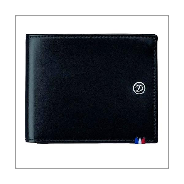 S.T. Dupont Brieftasche schwarz 6 Karten