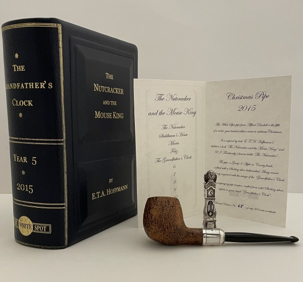 """Dunhill Christmas Pipe """"The Nutcracker and the Mouse King"""" The Grandfather´s Clock"""
