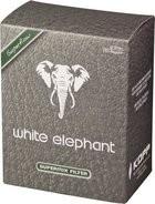 White Elephant natural Meerschaum Filter 9mm / 150er