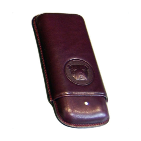 The White Spot-Dunhill London 2er Zigarrenetui Robusto purple
