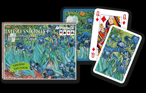 Spielkarten 2 x 55 Vincent van Gogh Impressionist
