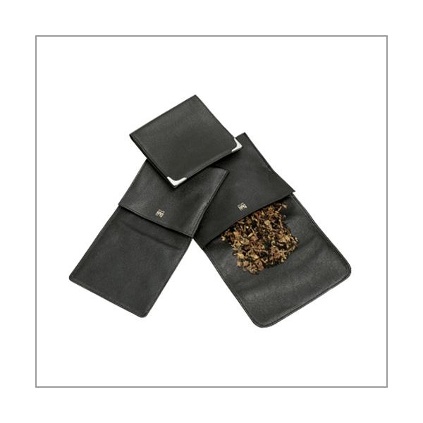 Diehl Tabakrollbeutel T1 groß Lammnappa schwarz