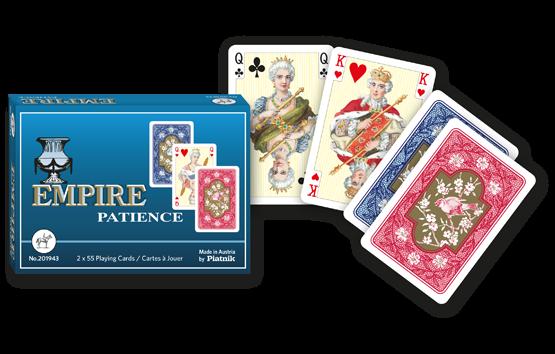 Patience-Karten Empire