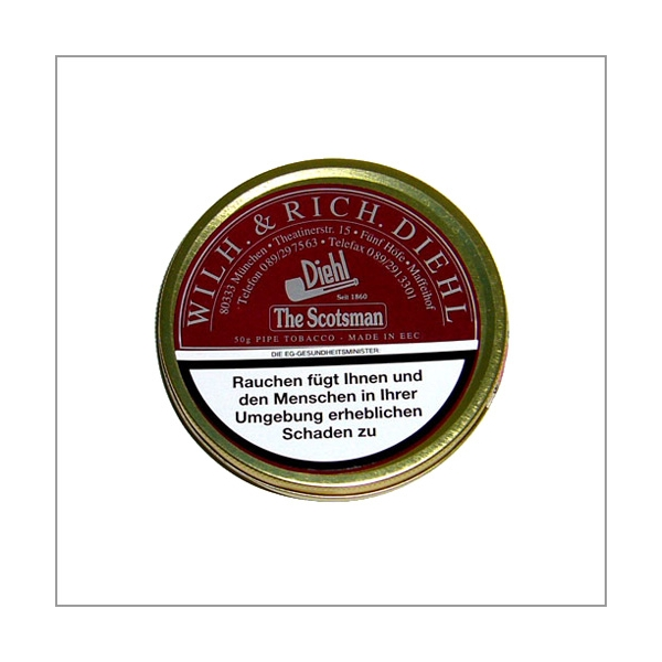 Diehl Pfeifentabak Special Blend The Scotsman 50g