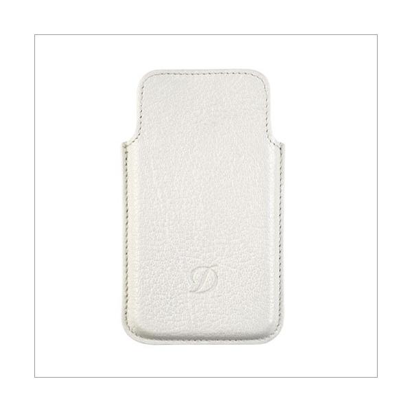 S.T. Dupont I-Phone 4 / 4S Etui Liberté weiß