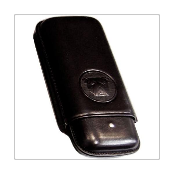 The White Spot-Dunhill London 2er Zigarrenetui Robusto schwarz