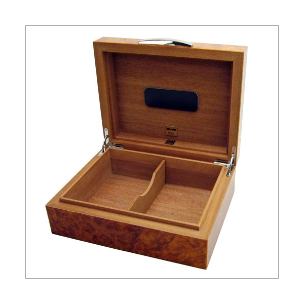 """Dunhill """"The White Spot"""" Humidor Burl"""