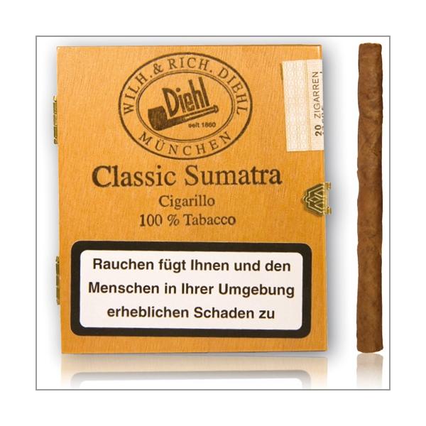 Diehl Classic Sumatra 20er Schachtel