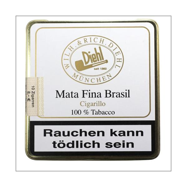 Diehl Mata Fina Brasil Cigarillo 10er Blechbox