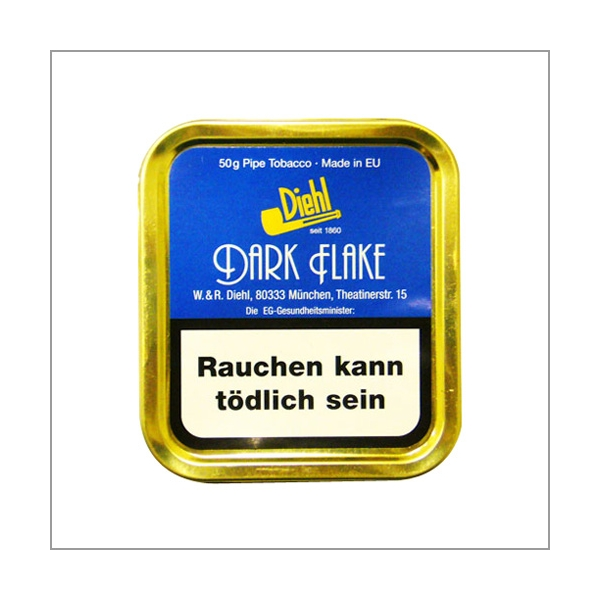 Diehl Pfeifentabak Dark Flake 50g