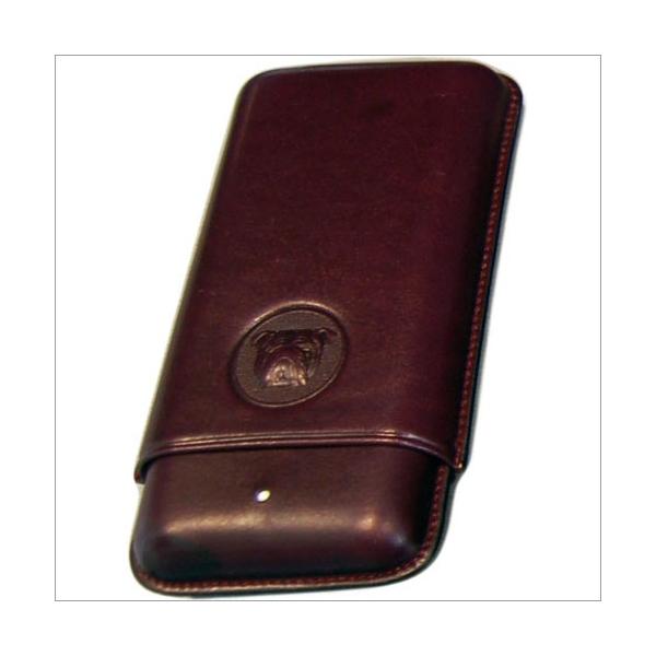 The White Spot-Dunhill London 3er Zigarrenetui Corona purple