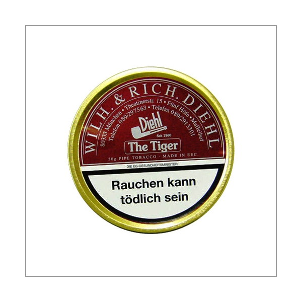 Diehl Pfeifentabak Flake The Tiger 50g