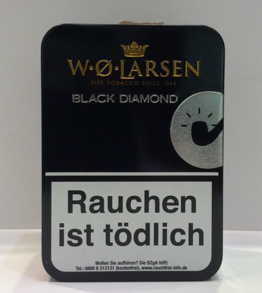 W.Ø. Larsen Pfeifentabak Black Diamond / 100g