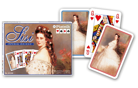 Spielkarten 2 x 55 Sisi