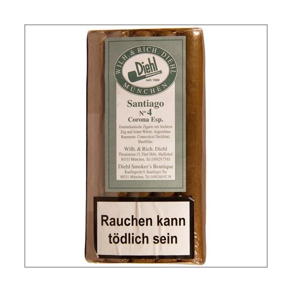 Diehl Shortfiller Santiago No.4 Corona Especiales 25er-Pack