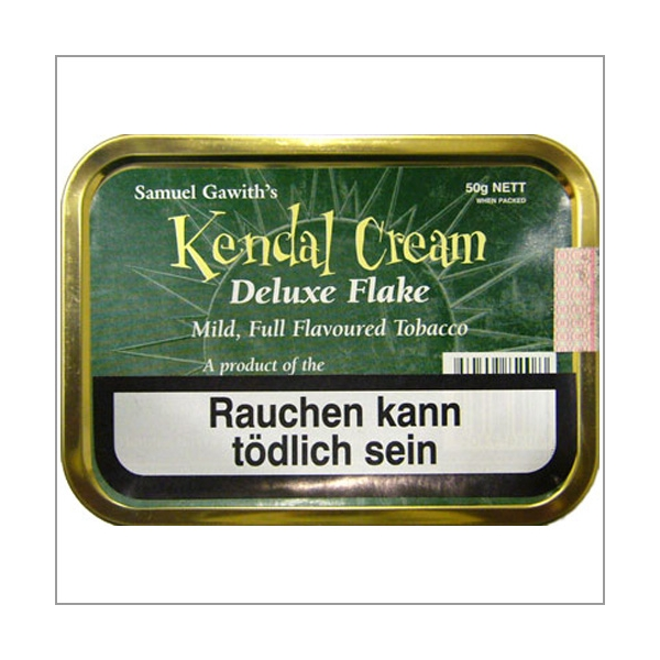 Samuel Gawith Pfeifentabak Kendal Cream Flake 50g