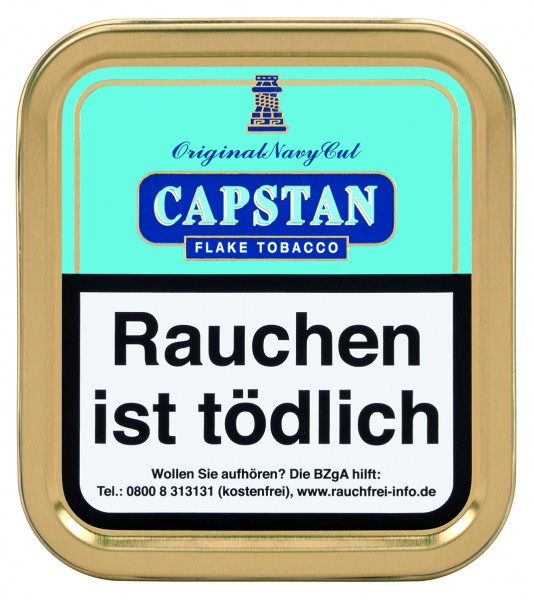 Capstan Original Navy Cut Flake 50g (blau)