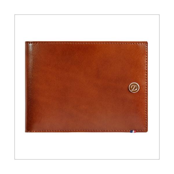 S.T. Dupont Brieftasche braun 6 Karten