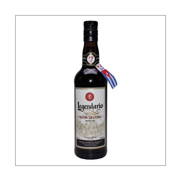 Legendario Elixir De Cuba Rum 7 Years old, 0,7 l