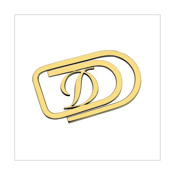 S.T. Dupont Geldklammer D vergoldet