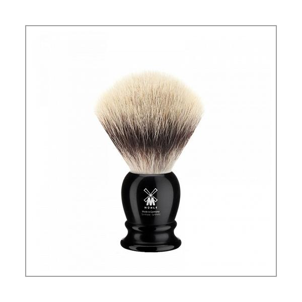 Rasierpinsel - Silvertip Fibre©, Edelharz schwarz